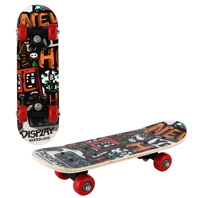 Скейтборд RGX SMALL 8, SMALL 8, черный