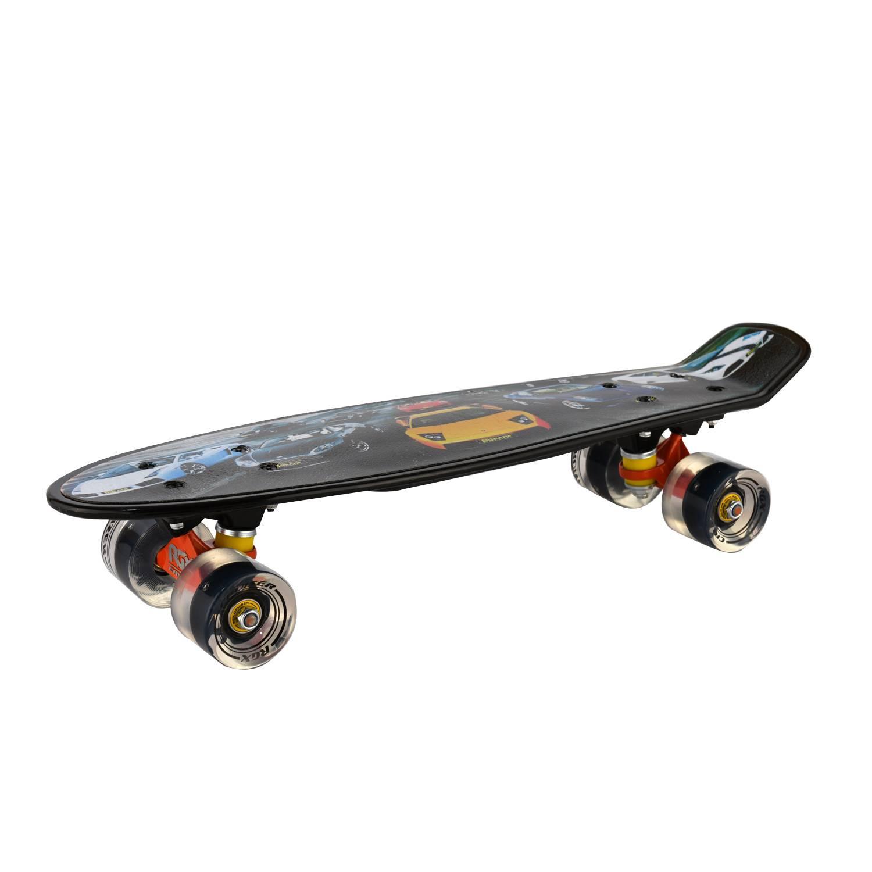 Круизер RGX PNB-07, PNB-07-01, черный скейтборд 8 колес