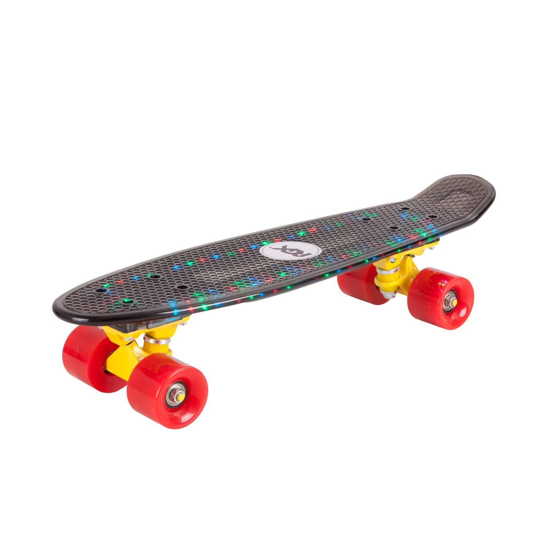Круизер RGX PNB-06, PNB-06-01, черный скейт мини круизер quiksilver lanai citron fluro yellow 6 5 x 26 66 см