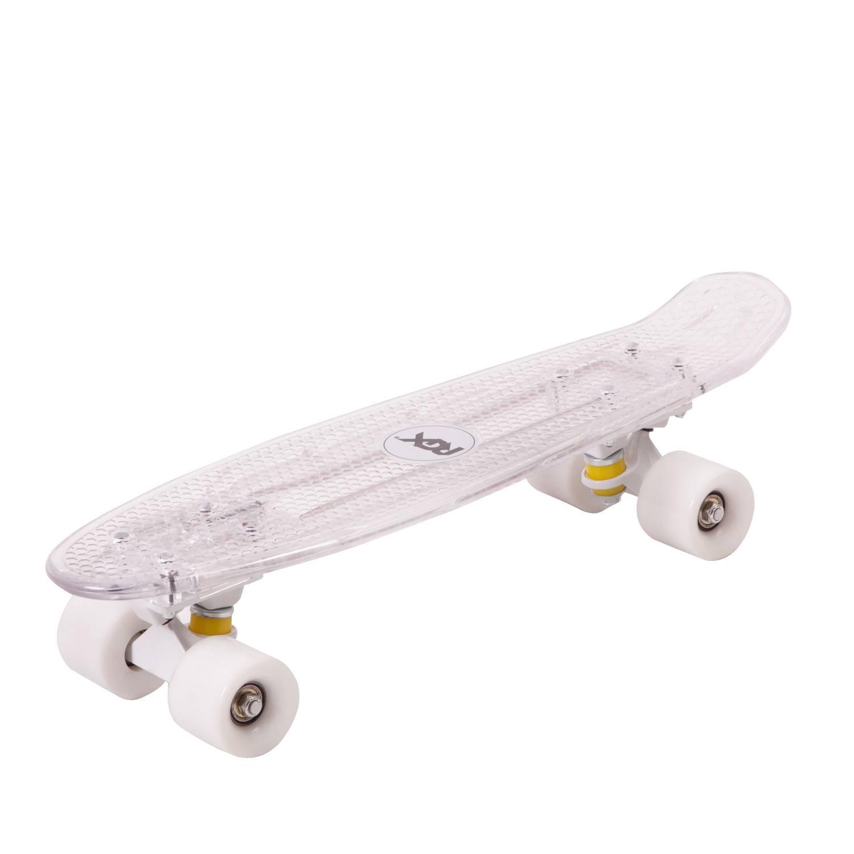 Круизер RGX PNB-06, PNB-06-03, белый скейт мини круизер quiksilver lanai citron fluro yellow 6 5 x 26 66 см