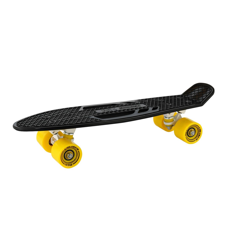 Круизер RGX PNB-08, PNB-08-02, черный скейтборд 8 колес