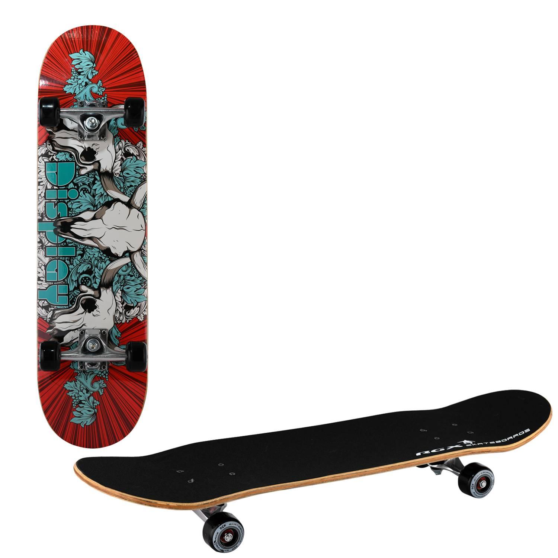 Скейтборд RGX LG 304, LG 304, красный, синий скейтборд 8 колес