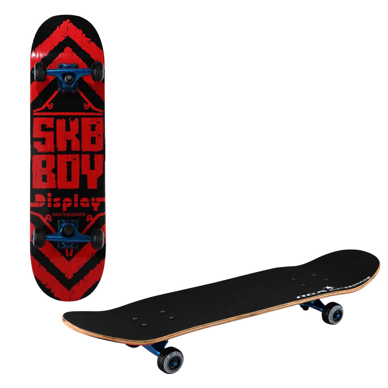 Скейтборд RGX TG 601, TG 601, красный, черный скейтборд 8 колес