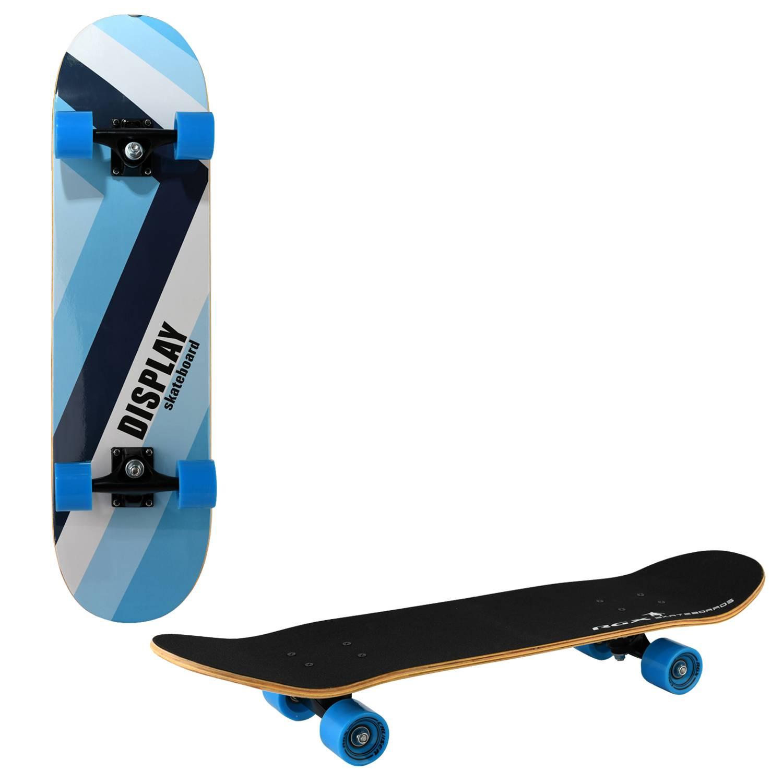 Скейтборд RGX LG BW 380, LG BW 380, синий скейтборд 8 колес