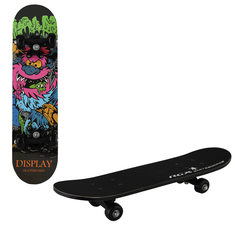 Скейтборд RGX MIDI 5, MIDI 5, черный скейтборд 8 колес