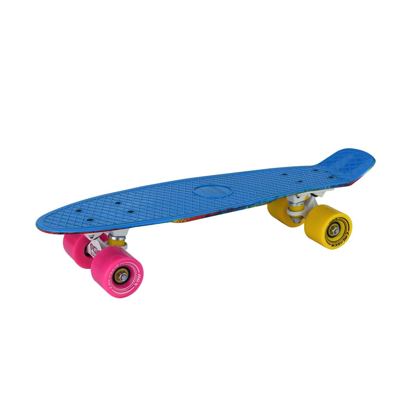 Круизер RGX PNB-15, PNB-15-01, синий скейтборд 8 колес
