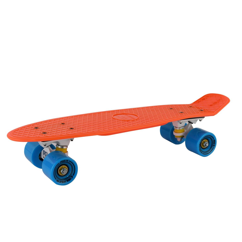 Круизер RGX PNB-01, PNB-01-03, оранжевый скейтборд 8 колес
