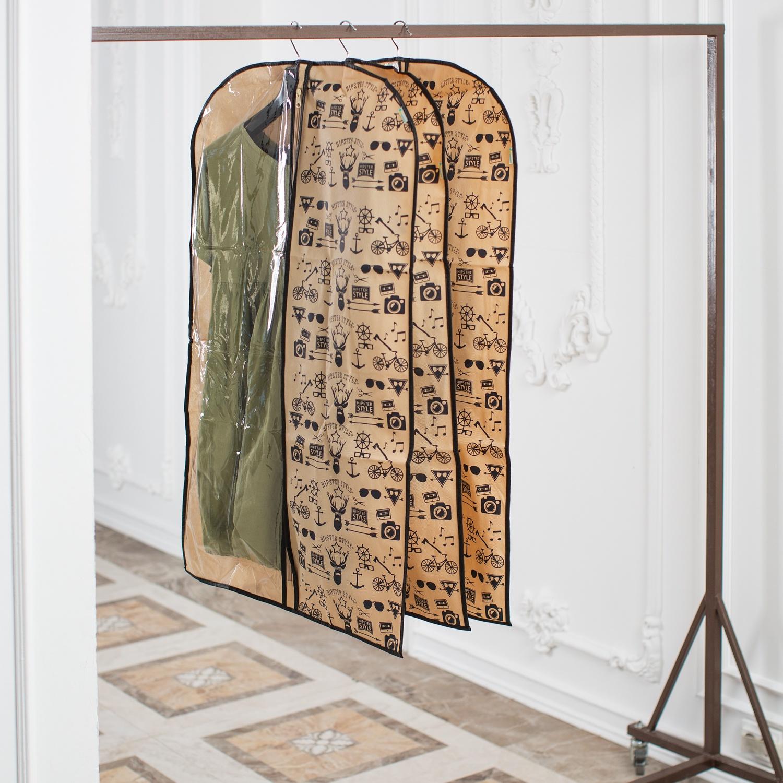 купить Средство для одежды Homsu Hipster Style, HOM-912, бежевый, черный по цене 799 рублей