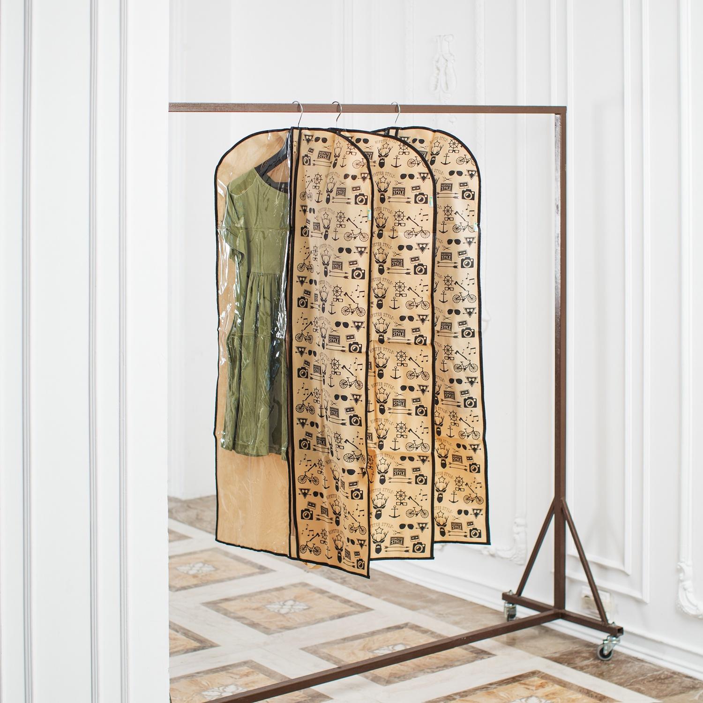 купить Средство для одежды Homsu Hipster Style, HOM-913, бежевый, черный по цене 957 рублей