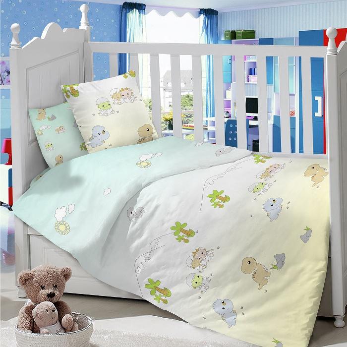 Комплект в кроватку LIMETIME Комплект в кроватку, простыня на резинке, LT1000-74, голубой