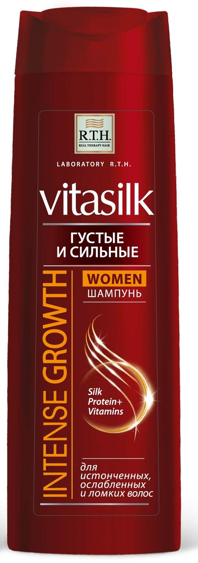 Шампунь для волос R.T.H. Vitasilk WOMEN Густые и сильные