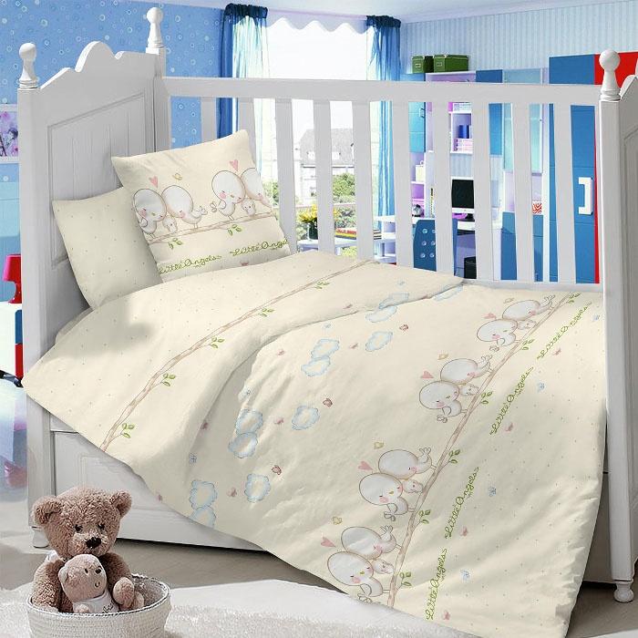 Комплект в кроватку LIMETIME Комплект в кроватку, простыня классическая, LT1100-66, бежевый
