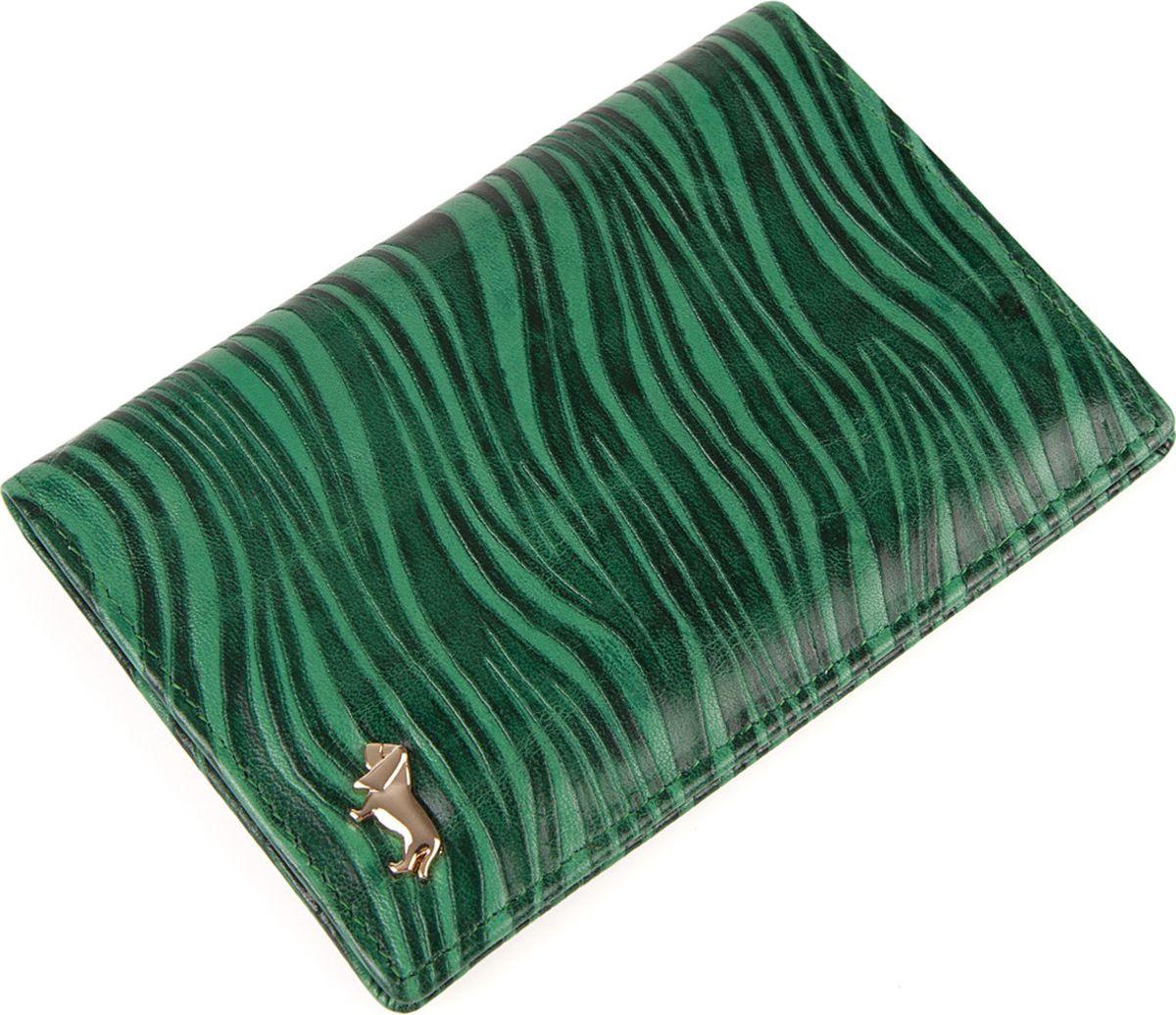 Обложка для документов женская Labbra, L052-0011 green/grey, зеленый, серый шапка женская labbra цвет темно розовый серый lb rr33005 dirty pink grey размер универсальный