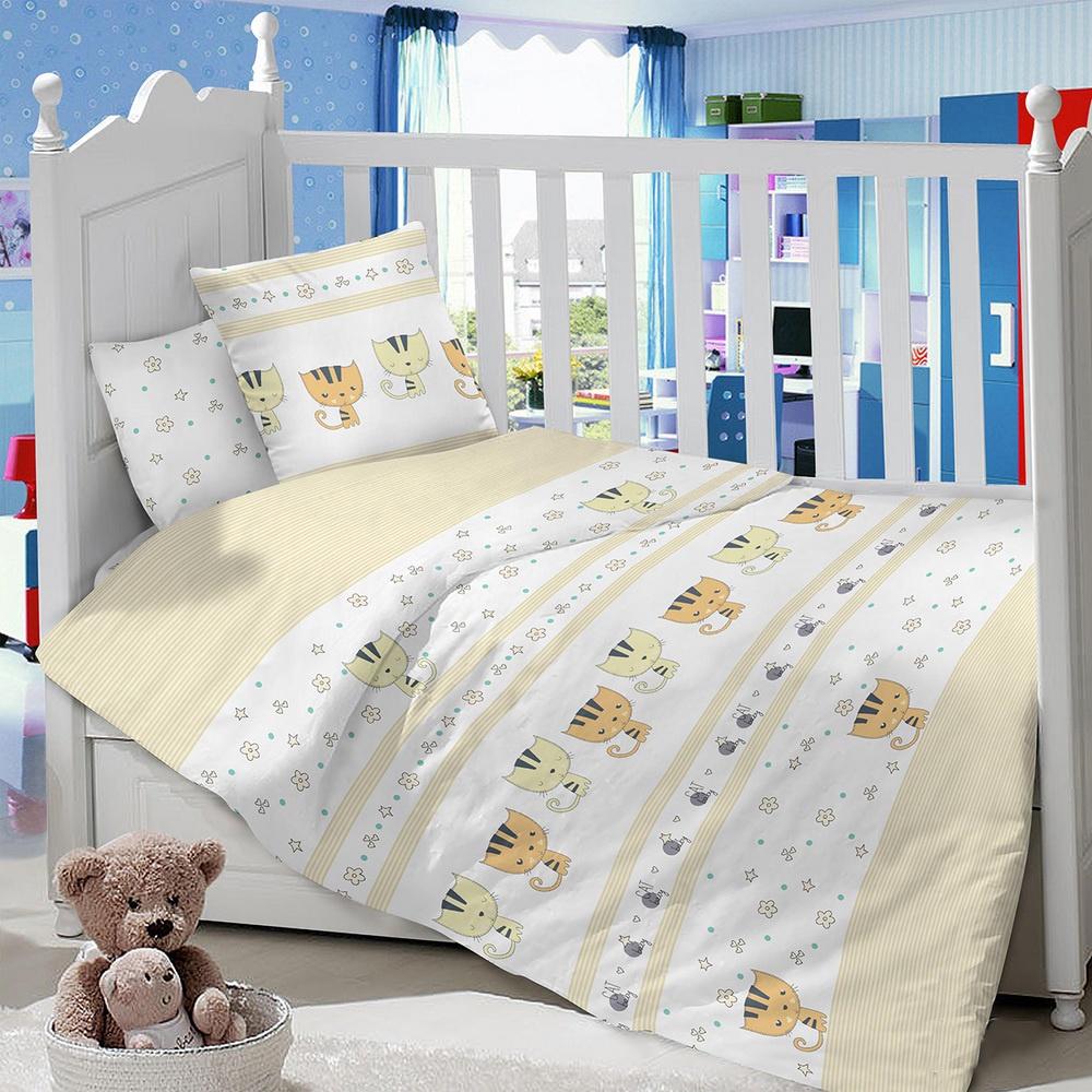 Комплект в кроватку LIMETIME Комплект в кроватку, простыня на резинке, LT1000-87, бежевый