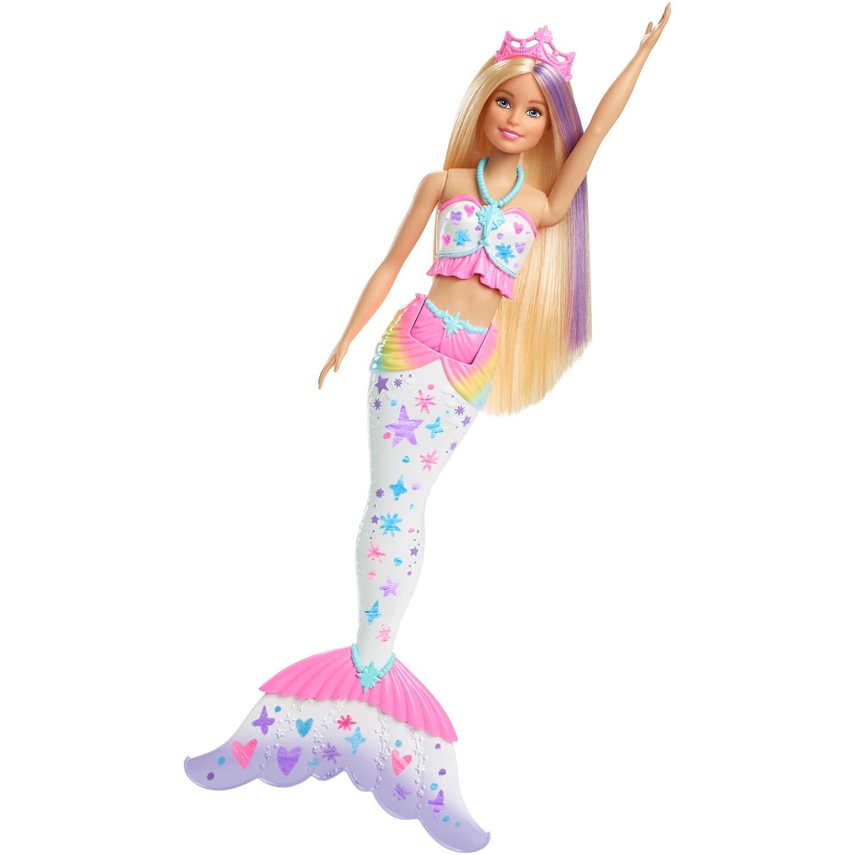 Кукла Barbie Барби цветная русалочка, GCG67