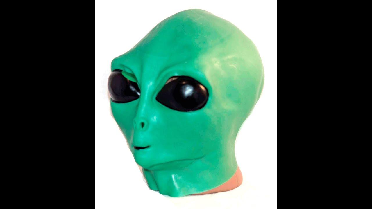 Маска карнавальная Филькина грамота Латексная зеленая, 326-MS0000022, зеленый карнавальная маски
