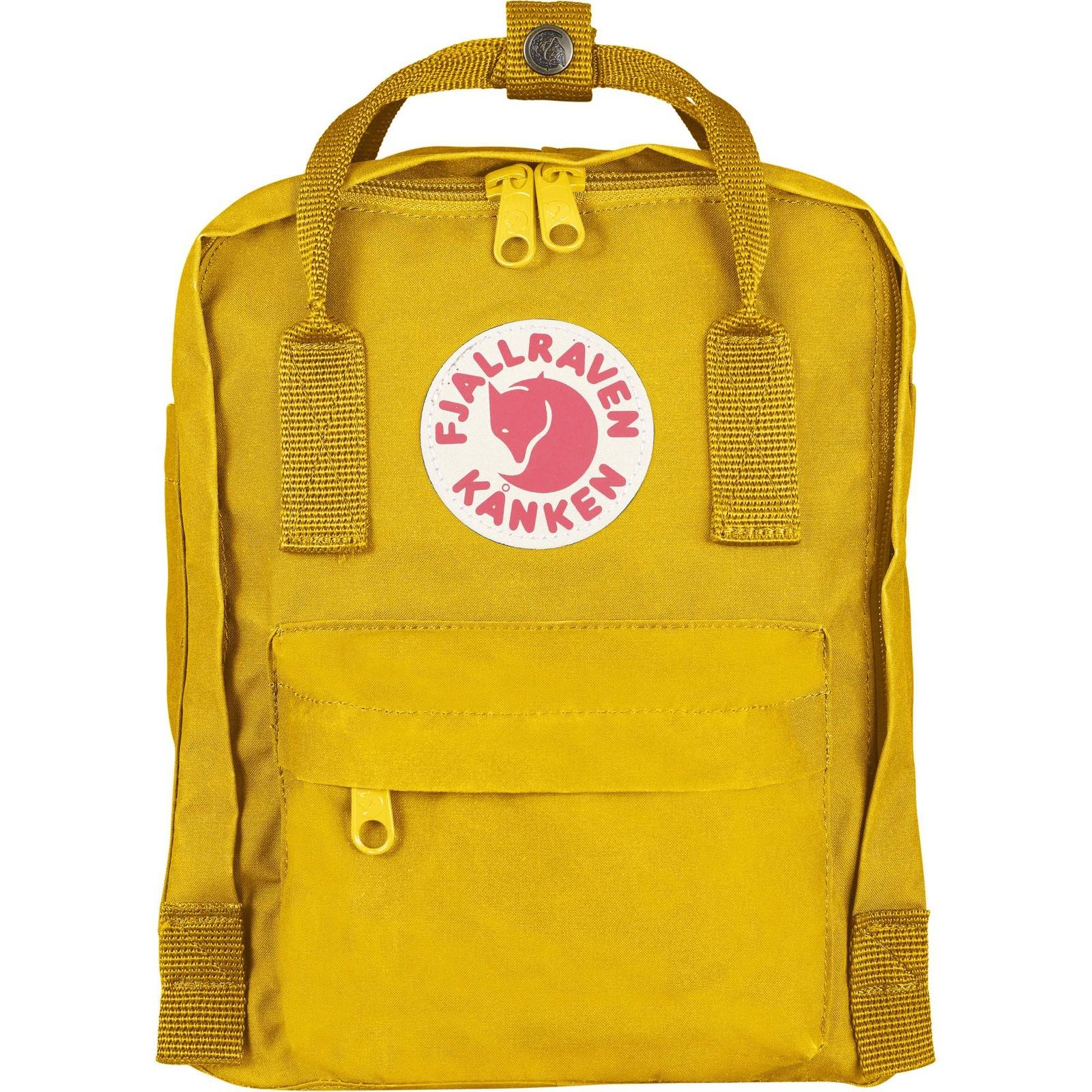 Рюкзак Fjallraven Kanken Mini 141, 23561/141, желтый цена и фото