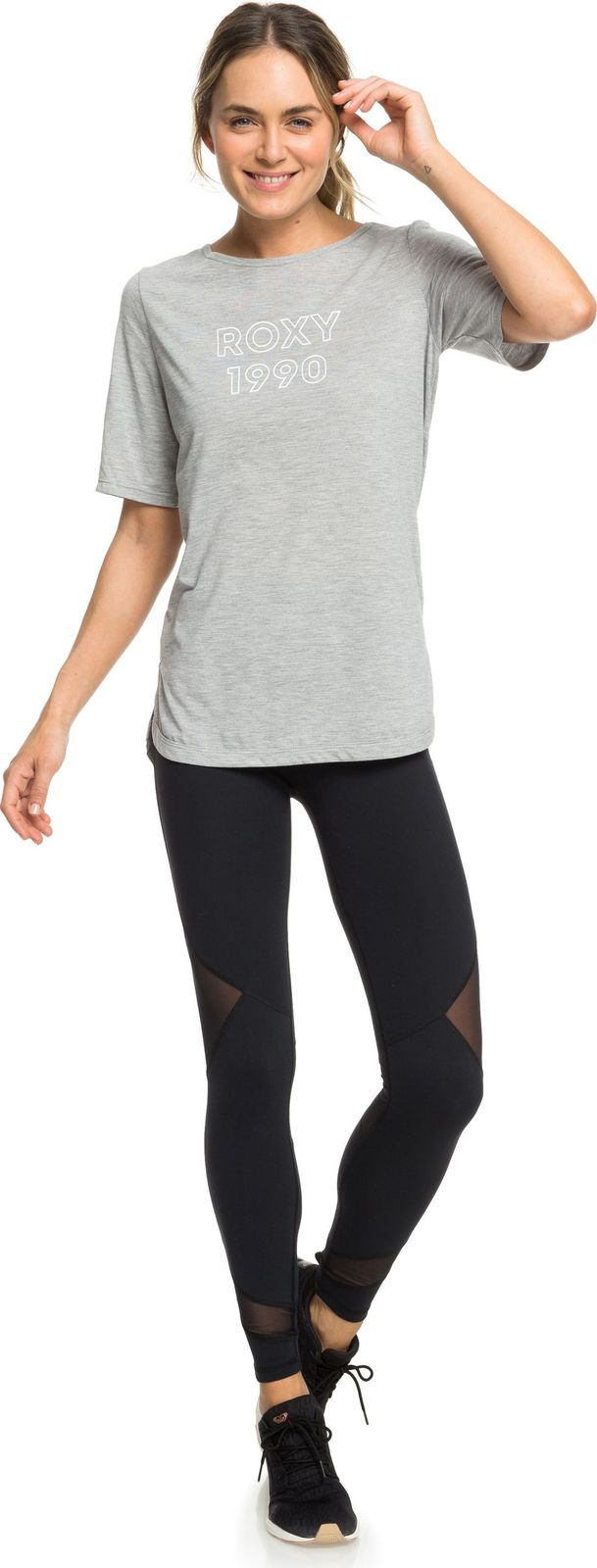 лучшая цена Футболка Roxy Brooklyn Baby Ss Tee