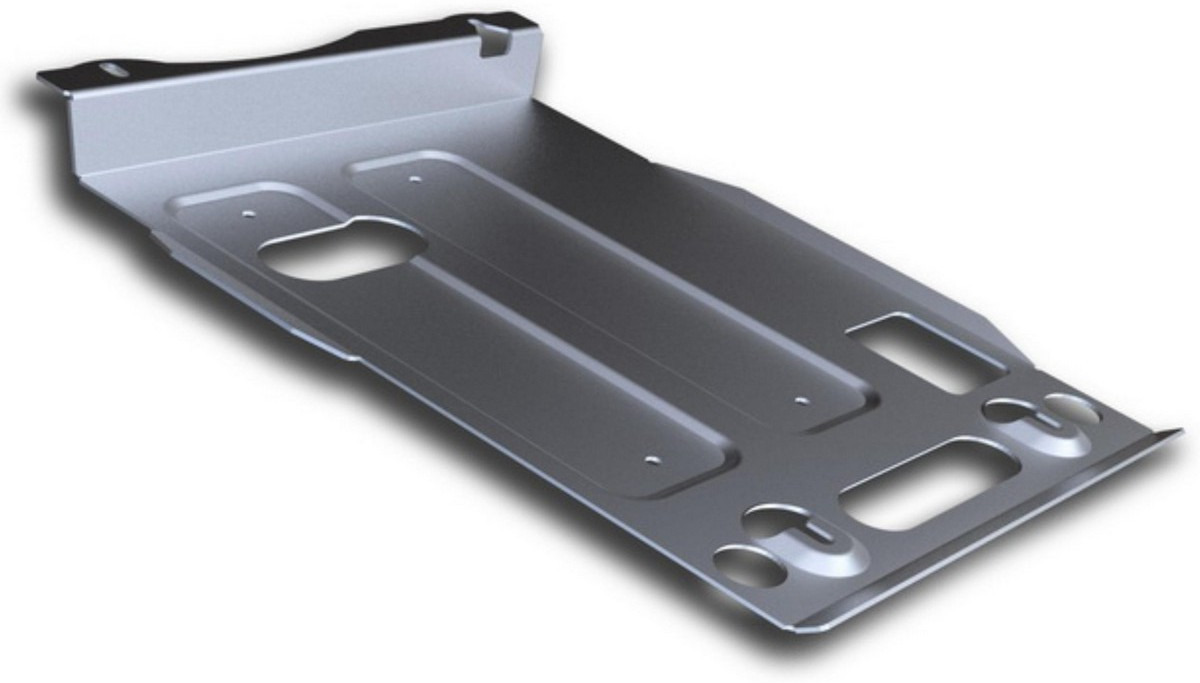 Защита картера Rival для Jeep Grand Cherokee 2010-2014 2014-2018 2018-н.в., алюминий 4 мм, с крепежом. 333.2734.1