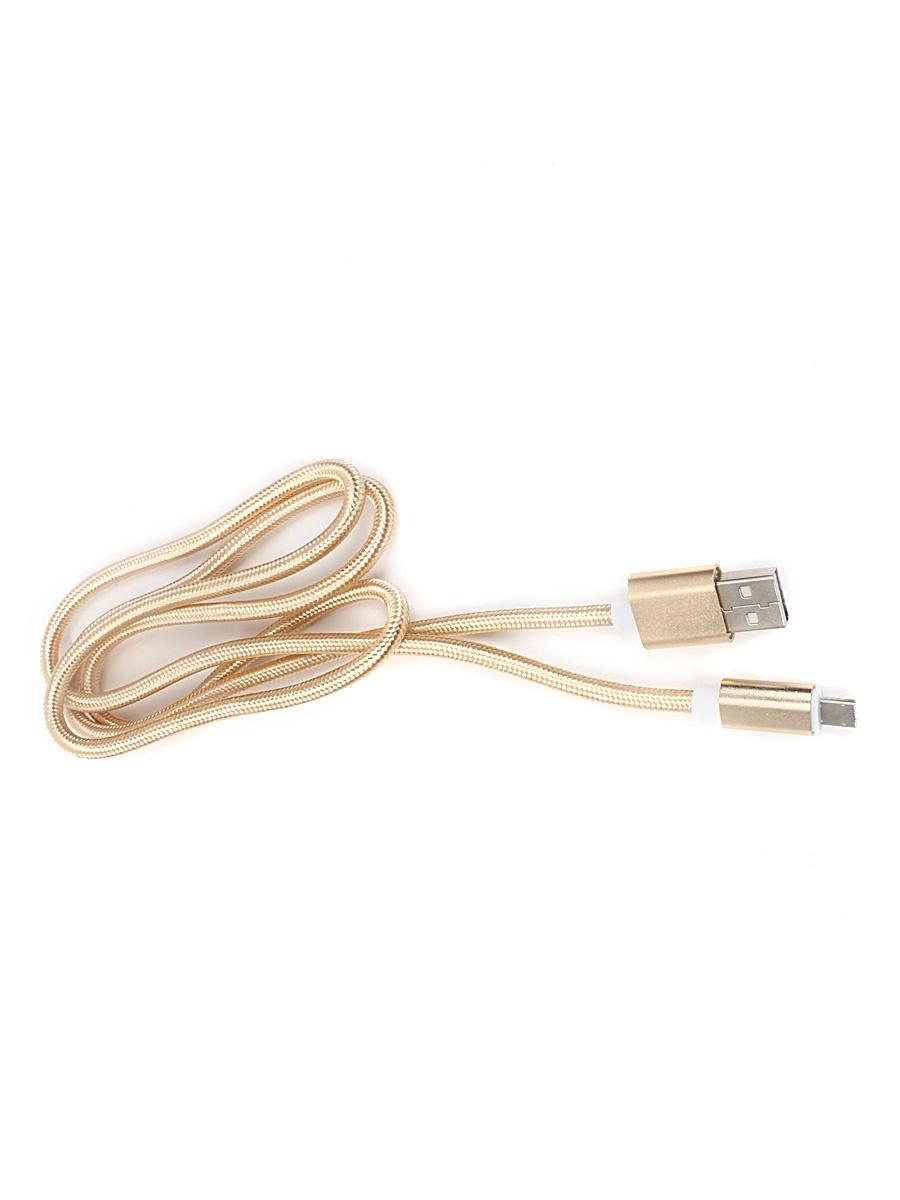 Кабель TipTop UULC-01mg 1м, 4605184010102, золотой машина music hall micro usb adapter компании apple lightning адаптер apple превратить телефонные данные зарядный кабель преобра