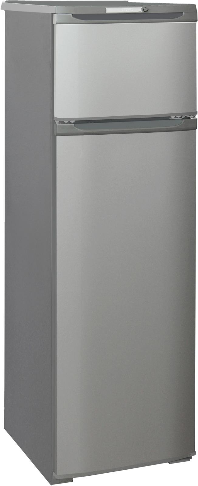 Холодильник Бирюса Б-M124, серый металлик бирюса 133 холодильник б 133