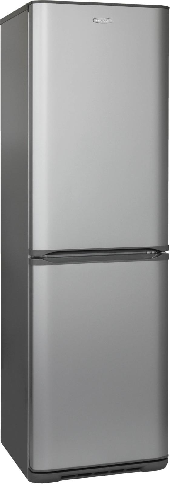 Холодильник Бирюса Б-M340NF, серый металлик холодильник бирюса б m340nf серый металлик