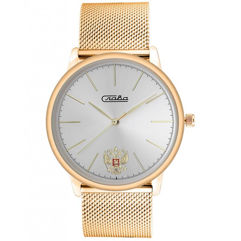 Часы Слава Традиция, 1729983/2035-100, серебристый, золотой все цены