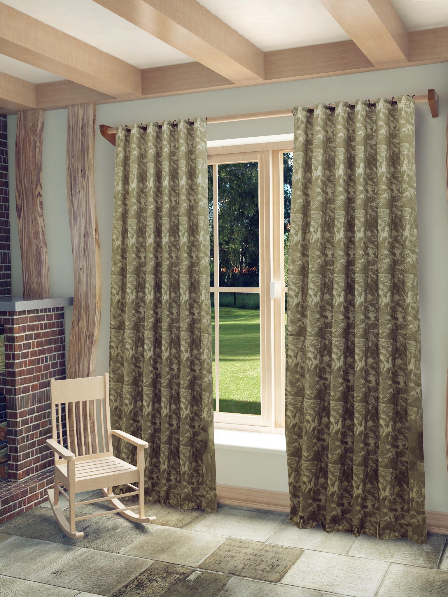 Штора Sanpa Home Collection HP3101/8/1E МИА светло-серый, 150*260 см, светло-серый шторы sanpa классические шторы миа цвет светло серый