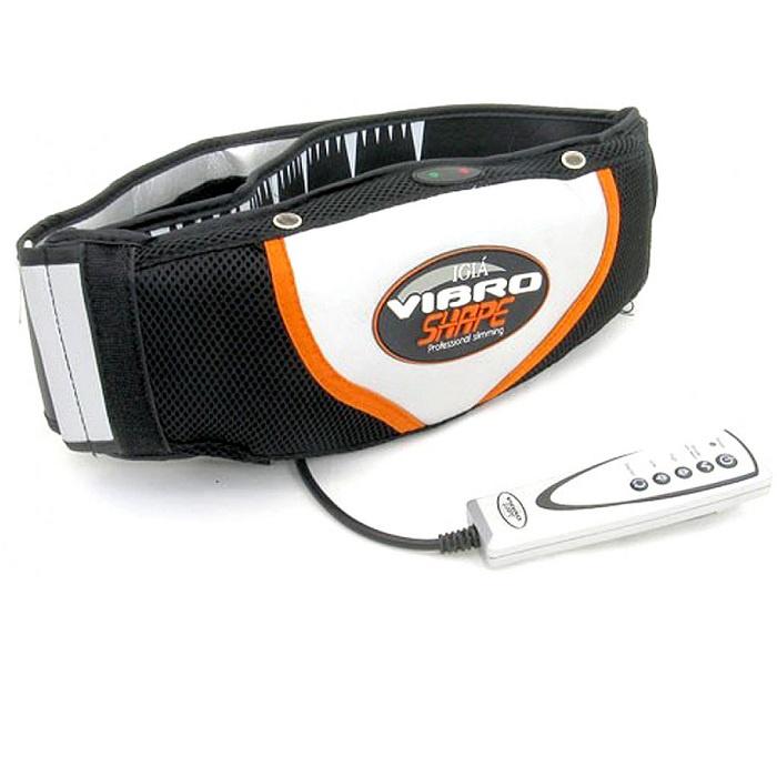 Пояс массажный Vibro Shape пояс для похудения vibro shape виброшейп