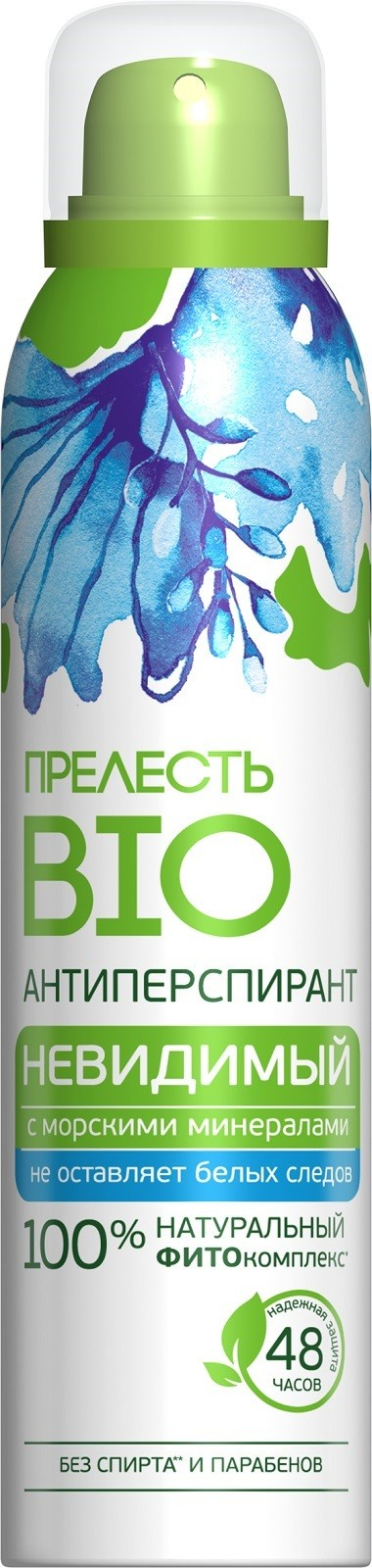 Дезодорант-антиперспирант Прелесть Bio