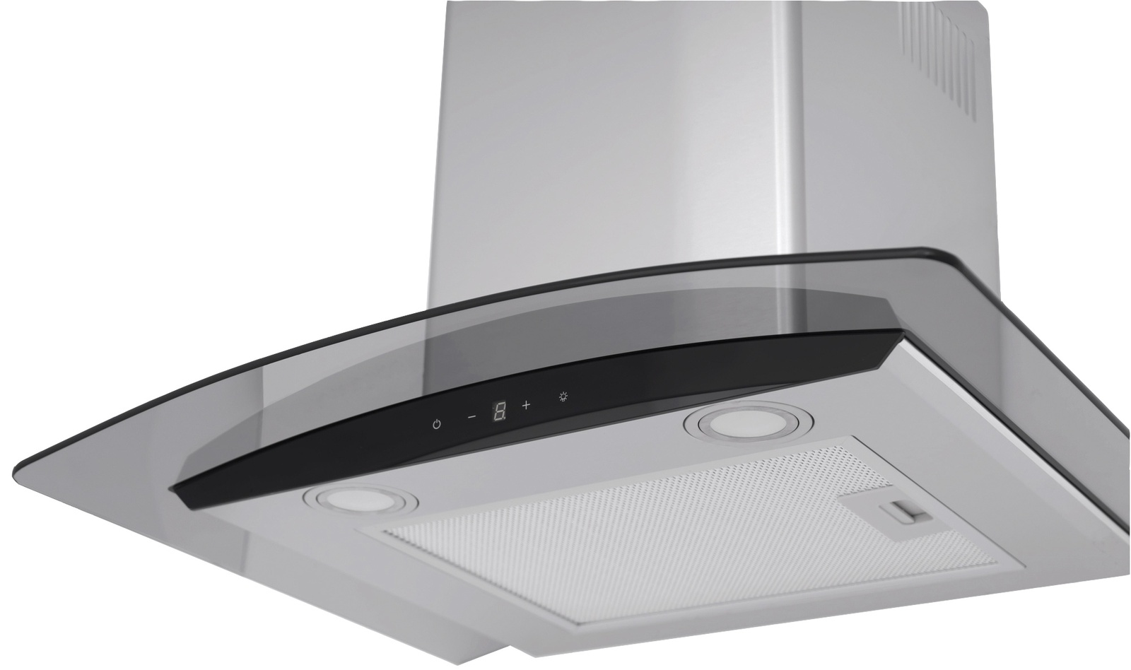 Вытяжка Exiteq EX - 1036 sensor inox, серебристый