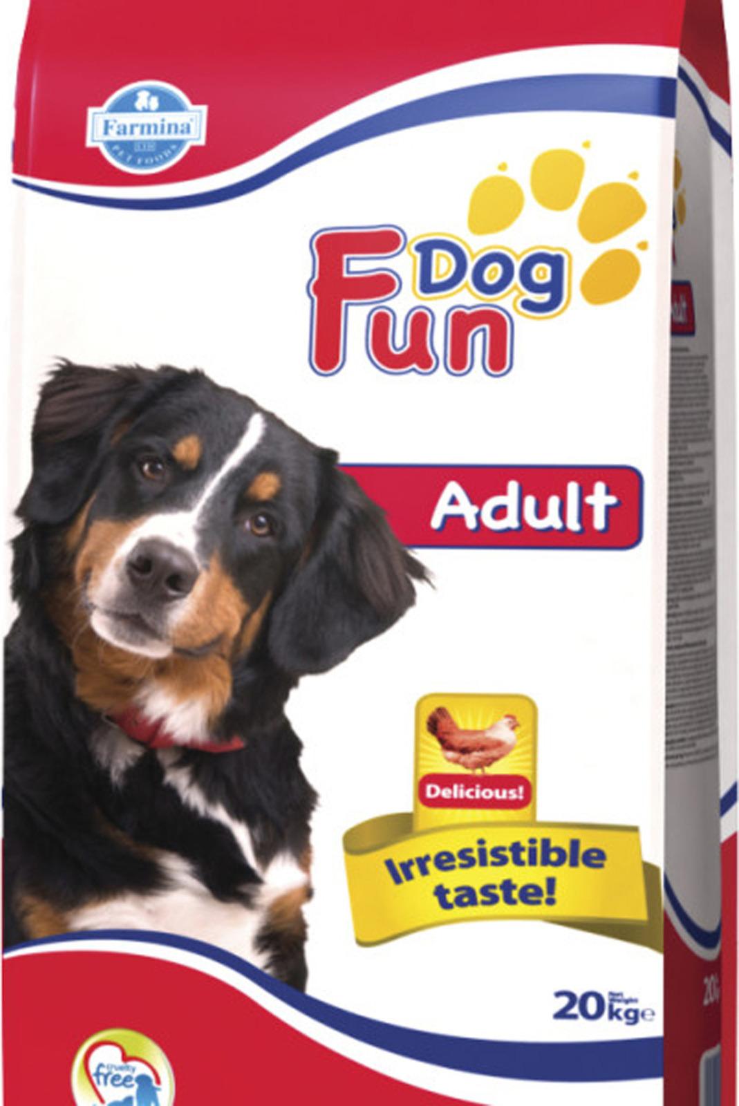 Корм сухой Farmina Fun Dog, для собак, с курицей, 10 кг