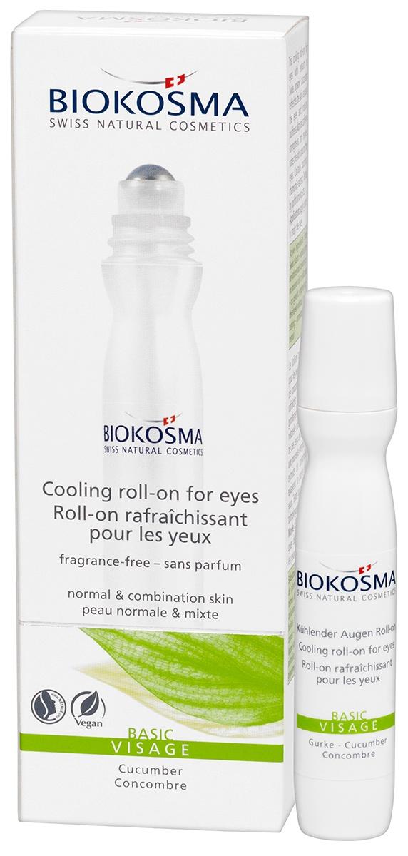 Охлаждающий гель для век Базовый уход Biokosma, 15 мл Biokosma