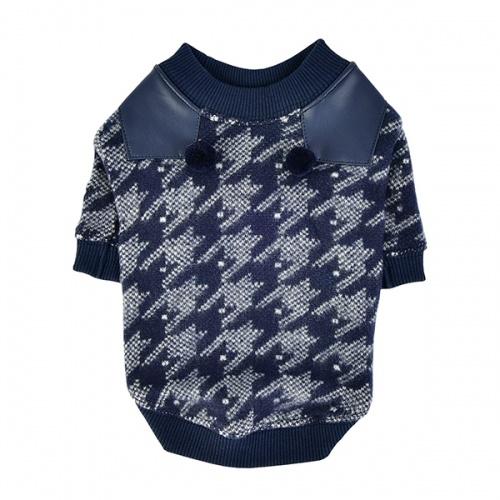 Одежда для собак Pinkaholic (Южная Корея) MIRABELLE NASD-TS7502-NY-S, синий