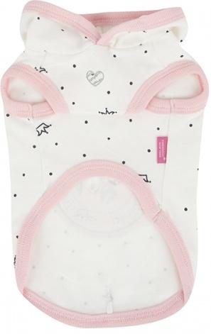 Одежда для собак Pinkaholic (Южная Корея) ROYAL PUG NARA-TS7307-OW-M, белый Pinkaholic (Южная Корея)