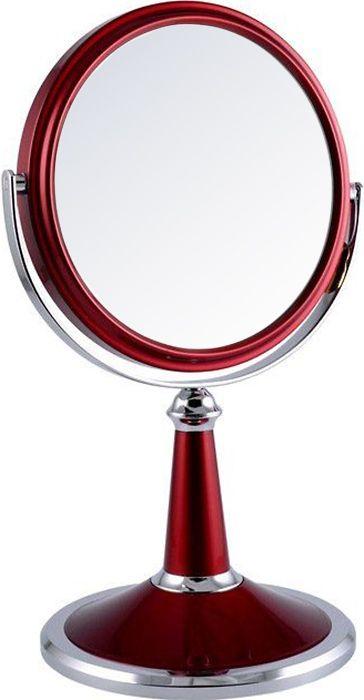 Зеркало косметическое двустороннее настольное с 5Х увеличением, B6209 RUBY/C колготки opium siluet body 40 bronzo 4
