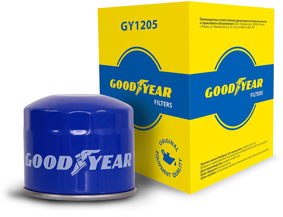Масляный фильтр Goodyear GY1205 td04 49135 04030 28200 4a210 double nozzle turbo turbocharger for hyundai starex libero terracan galloper ii 4d56a 1 d4bh 2 5l