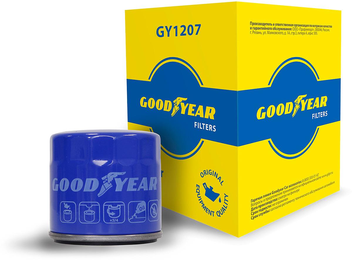 Масляный фильтр Goodyear GY1207 оптика mazda