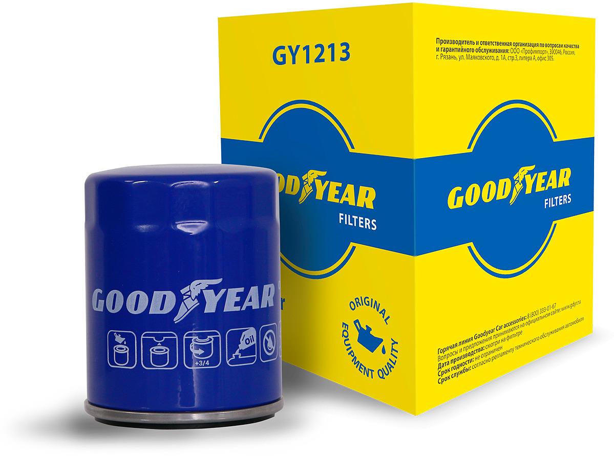 Фильтр масляный Goodyear, GY1213, синий молдинг задней двери матовый suzuki 990e0 61m22 000 для suzuki sx4 2016