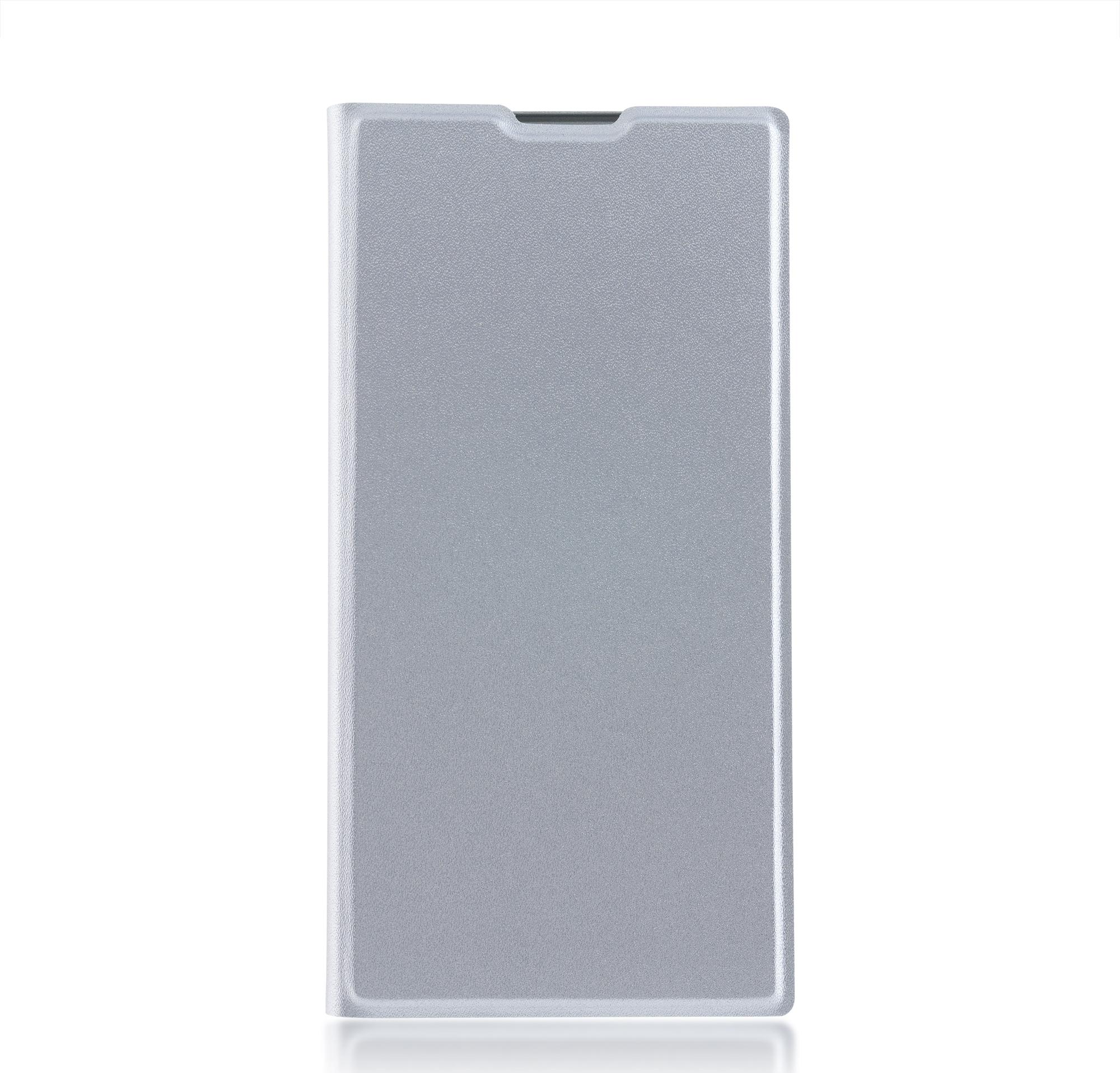 Чехол Brosco Book для Sony Xperia XA2 Ultra, голубой