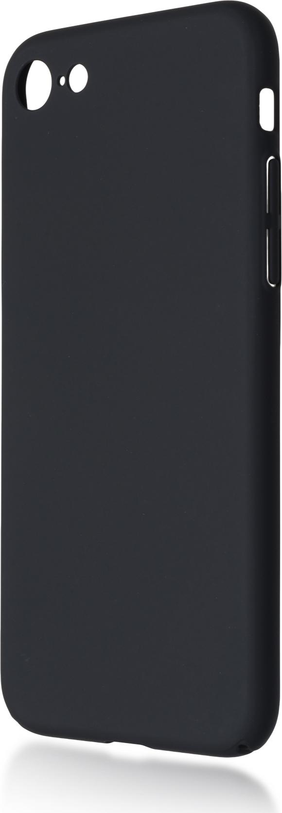 Чехол Brosco 4Side Soft-Touch для Apple iPhone 7, черный