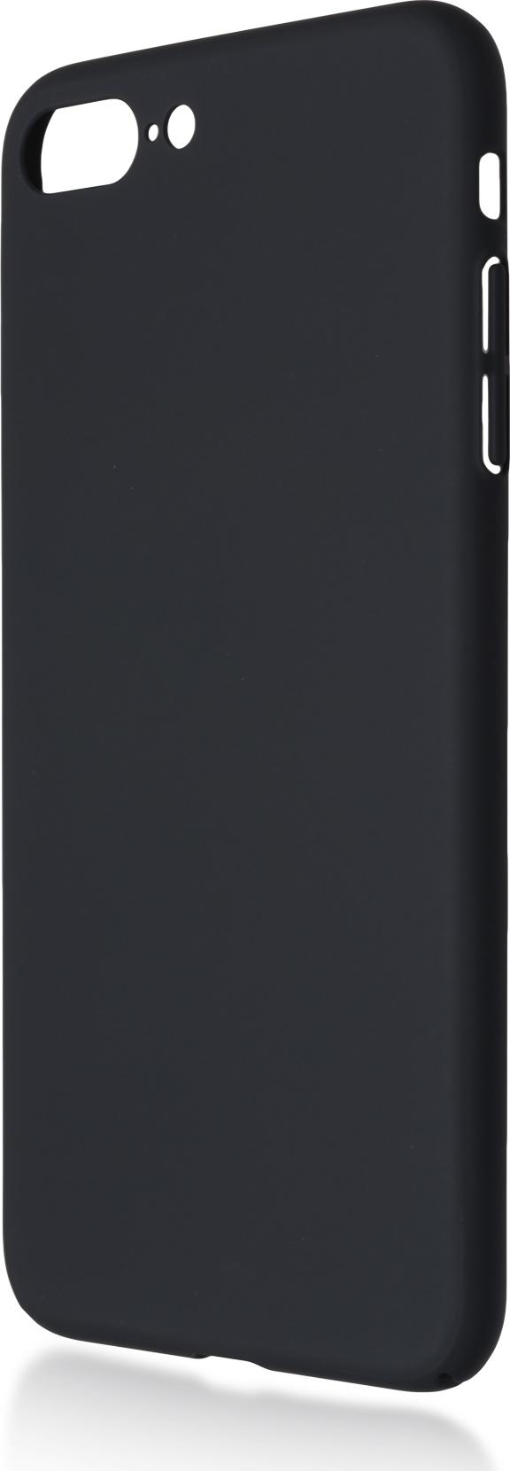 Чехол Brosco 4Side Soft-Touch для Apple iPhone 7 Plus, черный