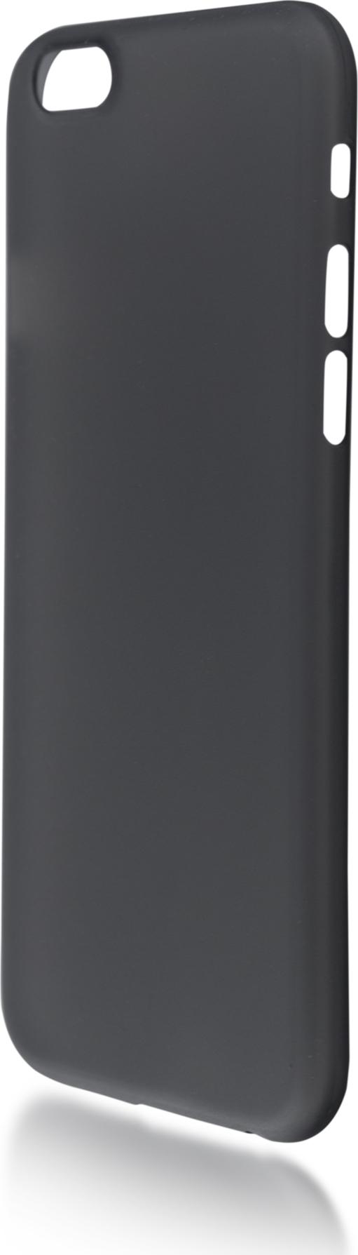 Чехол Brosco SuperSlim для Apple iPhone 6, черный чехол для сотового телефона brosco superslim для iphone 6 plus ip6p pp superslim blue голубой