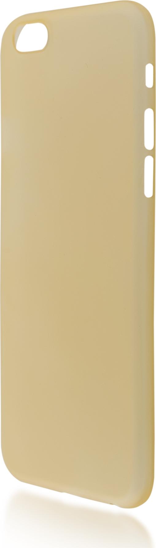 Чехол Brosco SuperSlim для Apple iPhone 6 Plus, оранжевый чехол для сотового телефона brosco superslim для iphone 6 plus ip6p pp superslim blue голубой