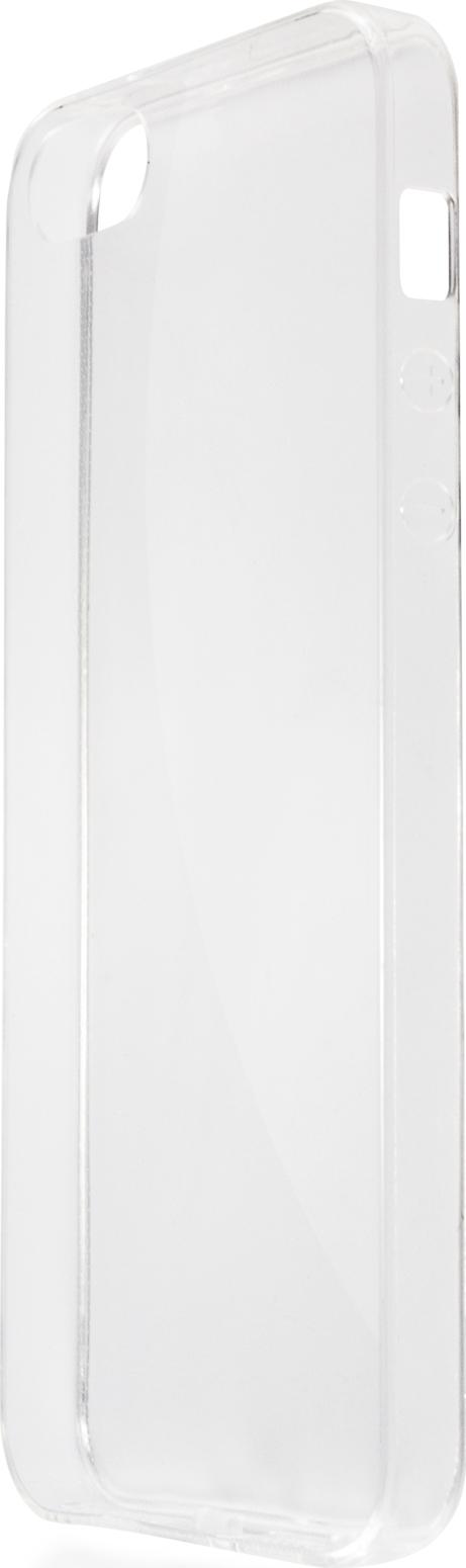лучшая цена Чехол Brosco TPU для Apple iPhone 5/5s, прозрачный