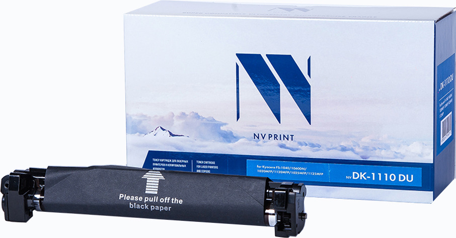 Фотобарабан NV Print NV-DK-1110 DU, для Kyocera FS-1040/1060DN/1020MFP/1120MFP/1025MFP/1125MFP, black картридж hi black tk 1110 для kyocera fs 1040 1020mfp 1120mfp