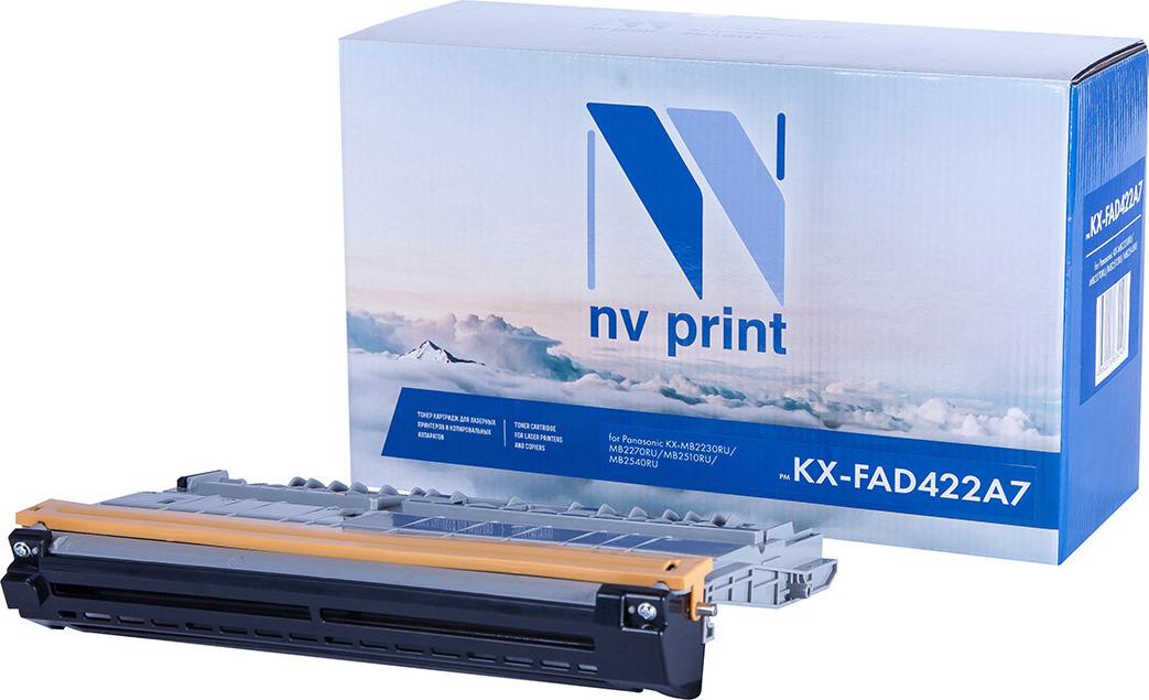 Фотобарабан NV Print NV-KX-FAD422A7, для Panasonic KX-MB2230RU/MB2270RU/MB2510RU/MB2540RU, black