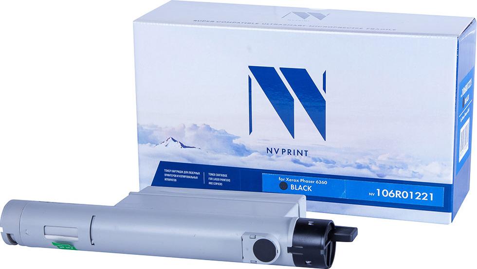 Картридж NV Print NV-106R01221, черный, для лазерного принтера цена