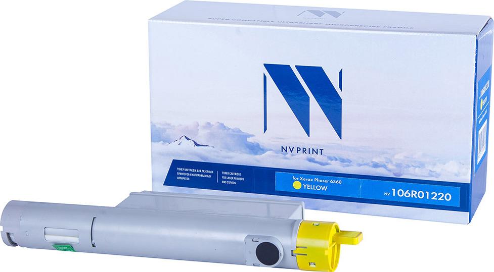 Картридж NV Print NV-106R01220, желтый, для лазерного принтера