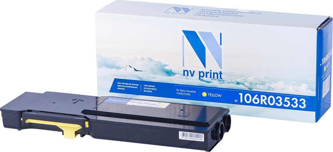 Тонер-картридж NV Print NV-106R03533, для Xerox VersaLink C400/C405, yellow
